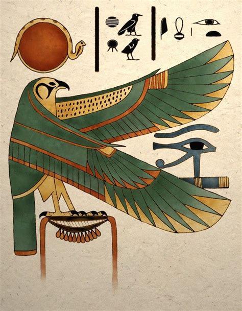 printable egyptian art ancient egyptian art print horus falcon wall decor
