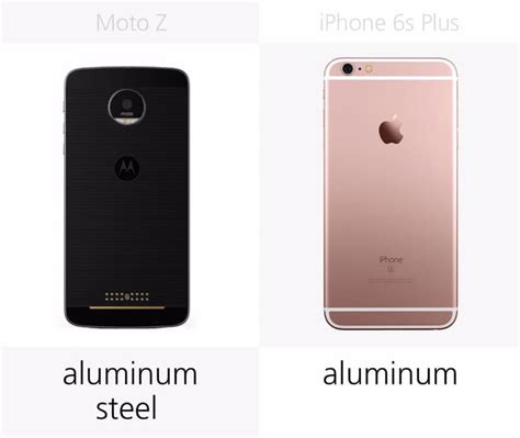 iphone 6s plus vs moto z who wins technology vista