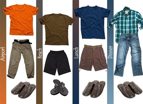 clothes to pack for a vacation
