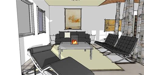 interiors a softer international style on behance
