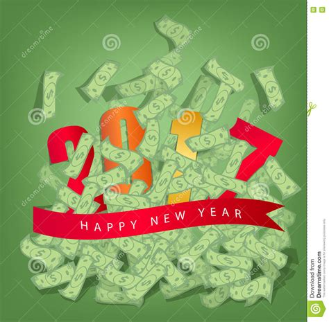 change money for new year buon anno 2017 riuscito uomo di affari sotto la pioggia