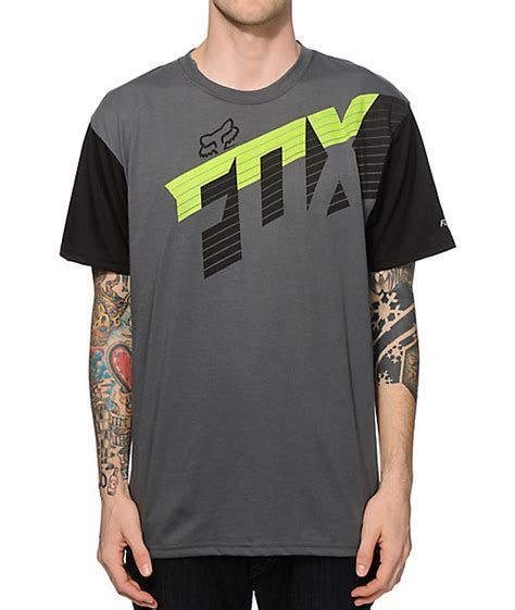Active T Shirt fox prismism active t shirt zumiez
