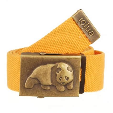 enjoi skateboards enjoi world wide web belt orange belts