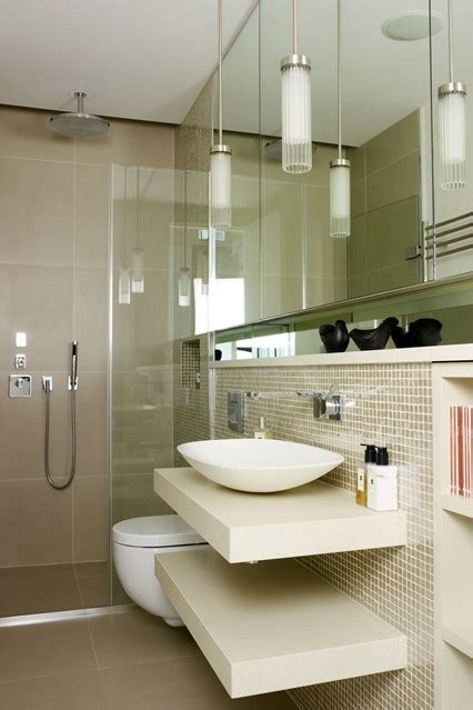 small bathrooms designs hidden lighting floating shelves small bathroom design ideas houseandgarden co uk