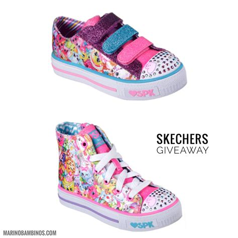 Skechers Nyc by Shopkins Macaron Caf 233 And Skeckers Giveaway Marinobambinos