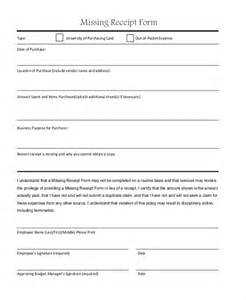 lost receipt template 22 sle receipt form free documents in pdf