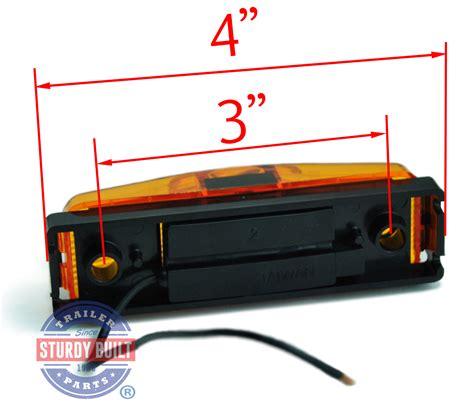 submersible led trailer light kit led sidemarker trailer light kit amber submersible 1 inch