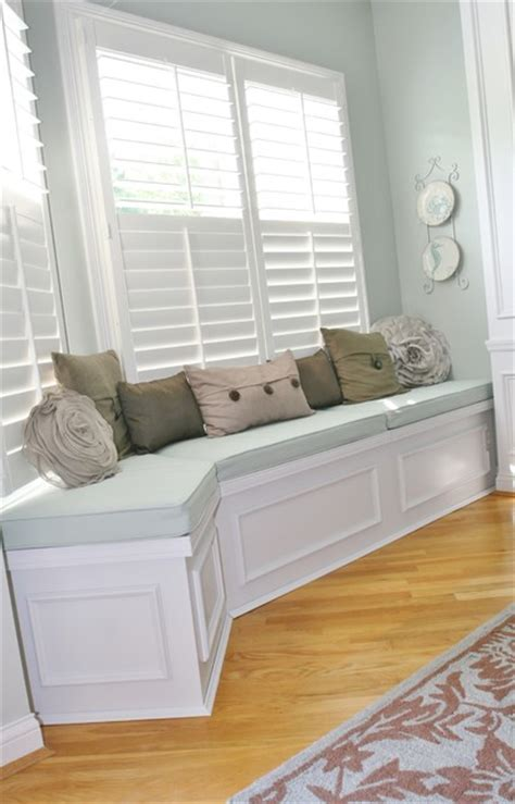 dining room bench seating with storage huntington built in bench seat with lids for storage traditional dining room