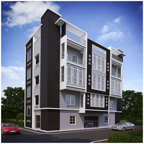 Appartment Elevation by Apartments Design Of Elevations Studio Design