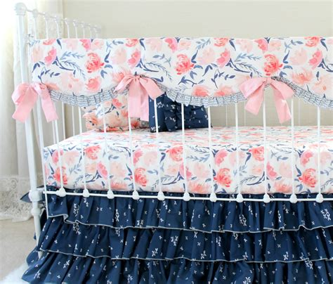watercolor bedding set watercolor whispers crib bedding set lottie da baby