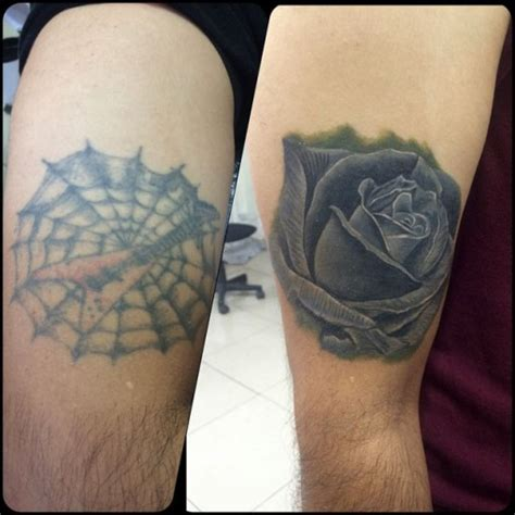 rose tattoo cover ups cover up best ideas gallery