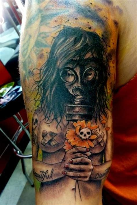 tattoo nightmares gas mask gas mask tattoo ink ideas pinterest masks tattoos
