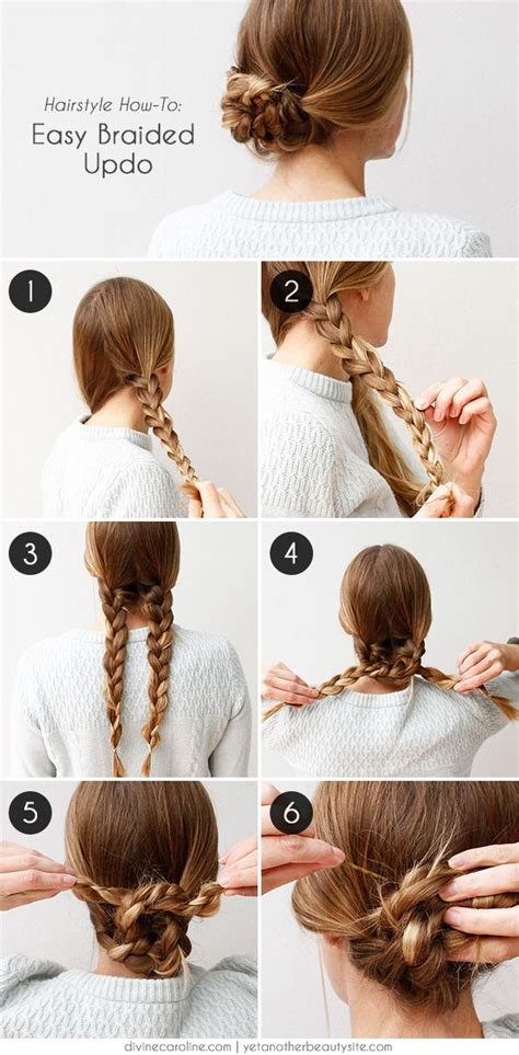 cool and easy hairstyles step by step an easy braided hairstyle for any occasion easy braided