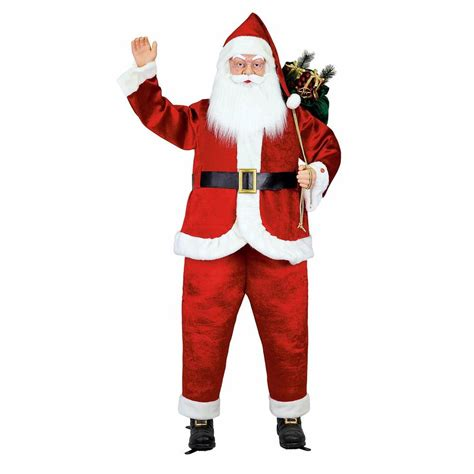 6 ft life size animated singing santa 5230 72626hd the