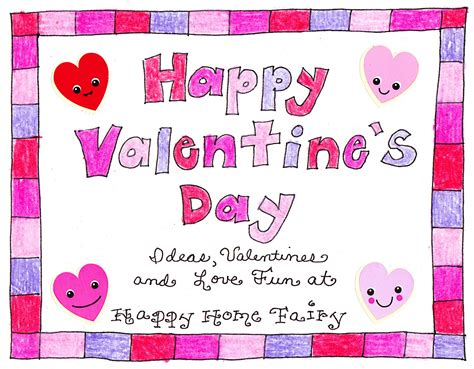 valentines cards for teachers a s day countdown free printable happy home