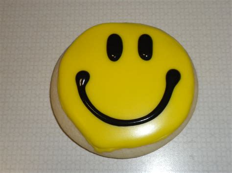 Smile Cookies that s how i roll smiley cookies
