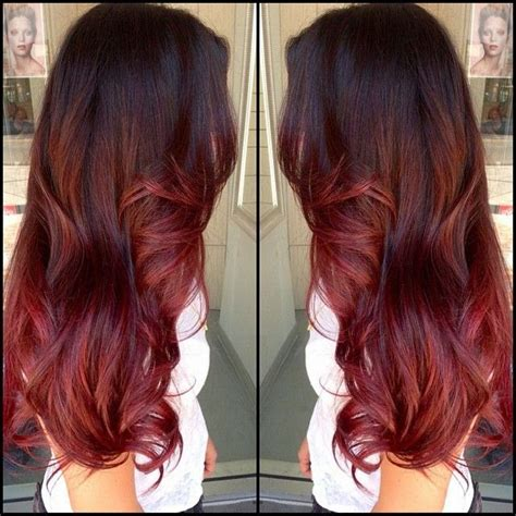 chocolate red hair on pinterest red blonde highlights latest ideas for brown hair with red and blonde highlights