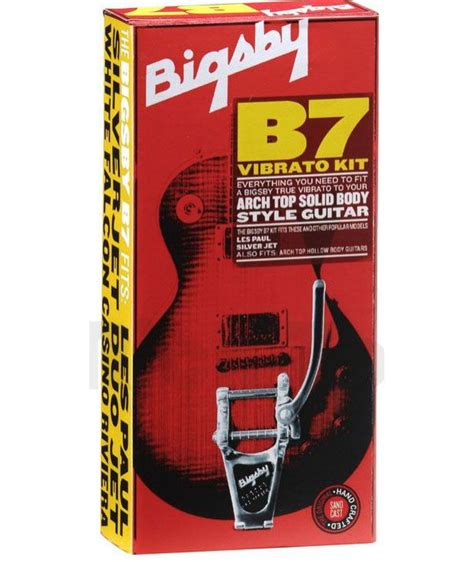 Bigsby House by Bigsby B7 Trem Kit Arch Top Solid Chrome 0868013005