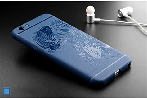 Oppo A59 Softcase Ultrathin oppo f1s a59 a59m exquisite fish pattern shockproof ultra thin soft silicone back