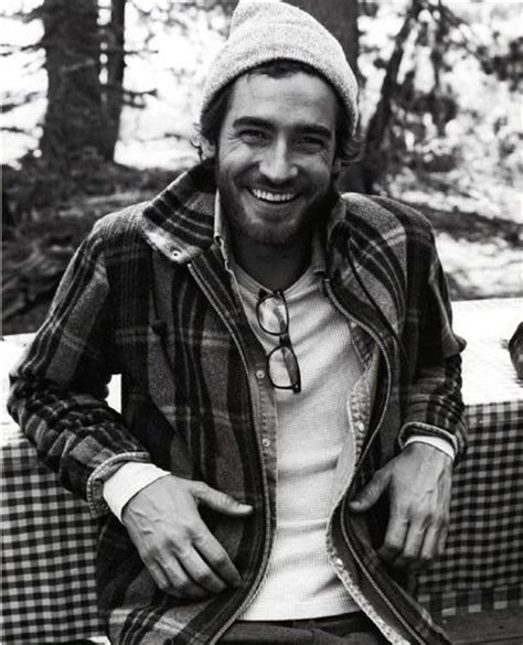 rugged guys rugged genuine smile it s black and it s white