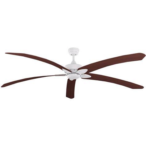 80 inch ceiling fans crestwind white 80 inch blade windpoint ceiling fan teak