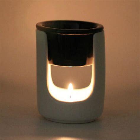 Parfum Mobil Aroma Terapi black white design aromatherapy burner bedroom