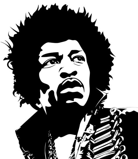 logo black and white lines jimi vector by guss67 on deviantart