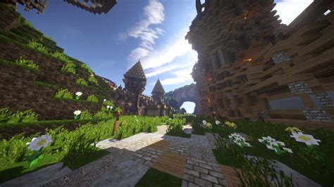 imagenes full hd de minecraft full hd test minecraft ultra shaders youtube