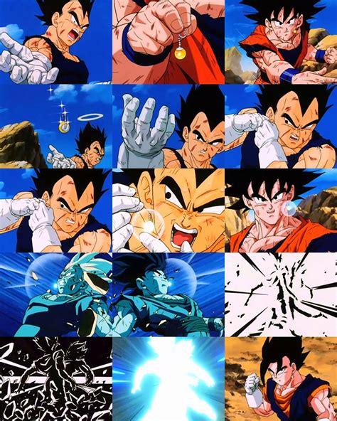 imagenes de goku todas las fusiones todas las fusiones de dbz y dbgt en imagenes taringa