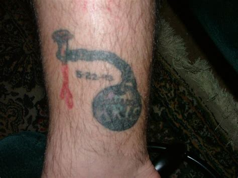ball and chain tattoo fubar mr bungle s photo my only a tribute to