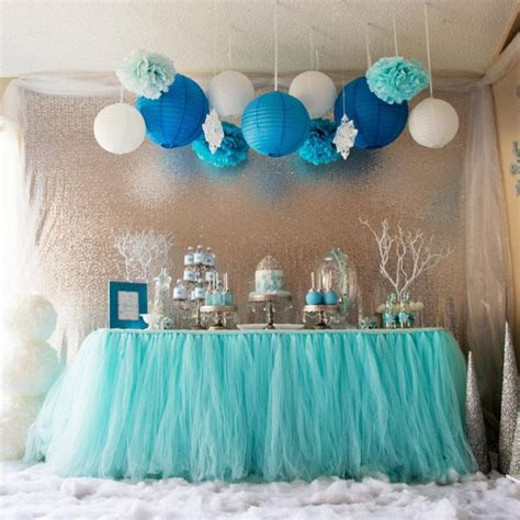 silver and blue table decorations best 25 blue decorations ideas on baby