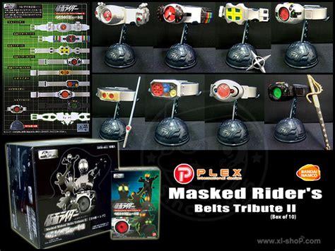 Masked Riders Belts Tribute Ii Shadowmoon plex masked rider s belts tribute ii box of 10