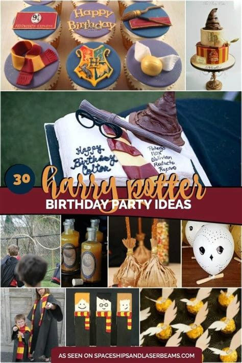 Harry Potter Birthday Supplies Australia by 30 Magical Harry Potter Ideas Spaceships And Laser