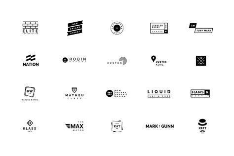120 Minimalist Logos by Vuuuds   TheHungryJPEG.com