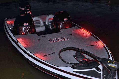 bass boat deck lights bass boat night blaster deck lighting package led kit