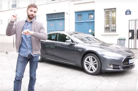 tesla application notre test vid 233 o de l application remote s for tesla sur
