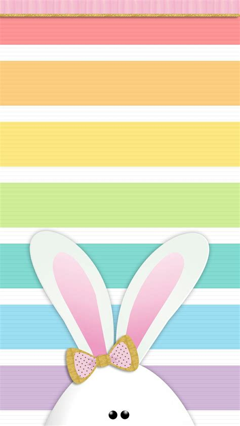 Bunny Iphone easter bunny wallpaper iphone walls by me