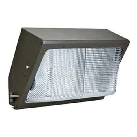 Plusrite 07086 40 Watt 120 277 Volt Bronze 4000k Led Wall Pack Light Fixtures