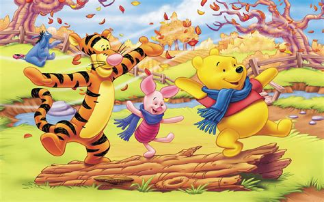 126 Best Images About Disney Winnie The Pooh Friends Pc On Winnie The Pooh And Friends Autumn Pictures Hd Wallpaper For Desktop 1920x1200