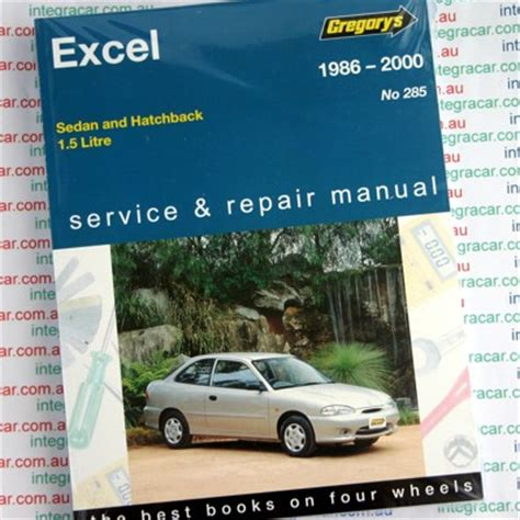 auto manual repair 1994 hyundai excel engine control hyundai excel 1986 2000 gregorys service repair manual