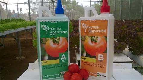 Nutrisi Hidroponik Ab Mix Buah jual poopux nutrisi hidroponik ab mix buah 1 l siqaya