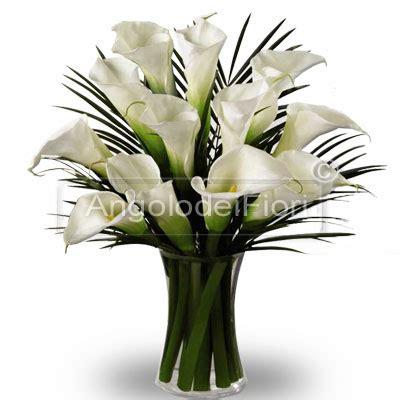 fiori calle bianche dodici calle bianche ordina questa composizione e