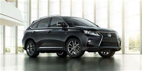 lexus rx 350 invoice price 2013 lexus rx 350 trim packages