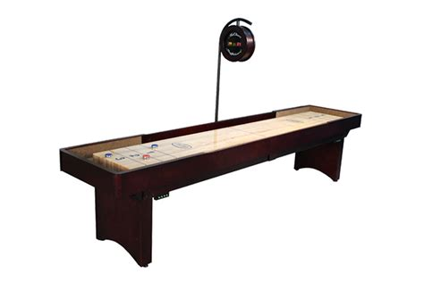 9 foot tournament shuffleboard table mcclure tables