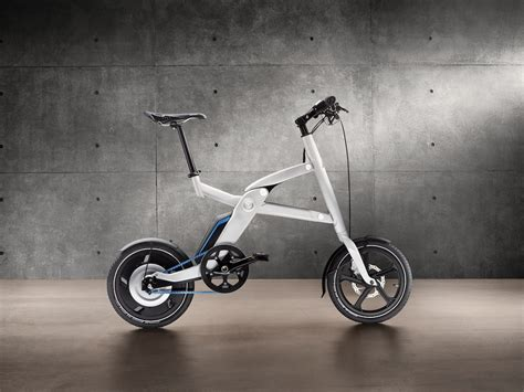 bmw folding bicycle bmw introduces stunning folding electric bike