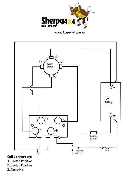 winch relay wiring diagram wiring diagrams schematics