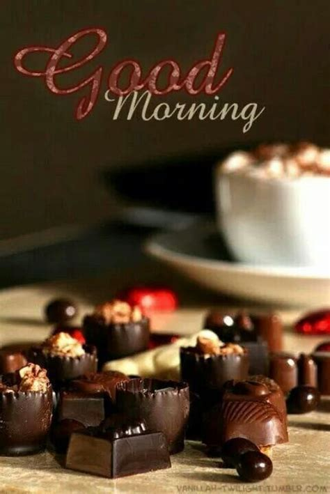 chocolate good morning pictures   images  facebook tumblr pinterest  twitter