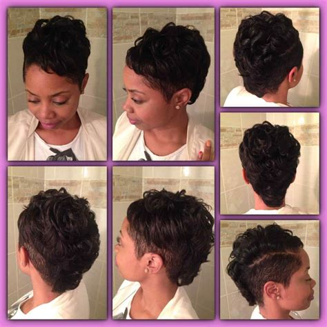 Black Hair Style Front Back by Back Of Hairstyles For Hair Medium
