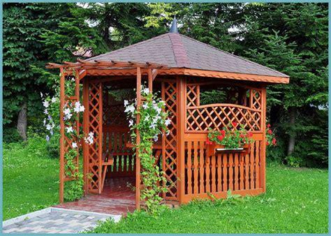 costruire gazebo in legno costruzione gazebo in legno