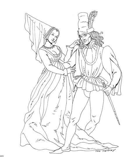 free coloring pages of medieval ages